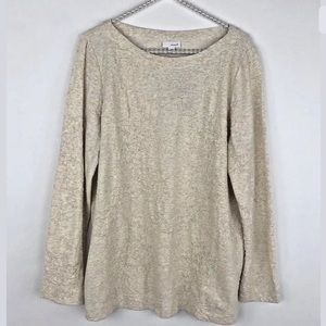 NWT J. Jill Pure Jill Heather Textured Blouse